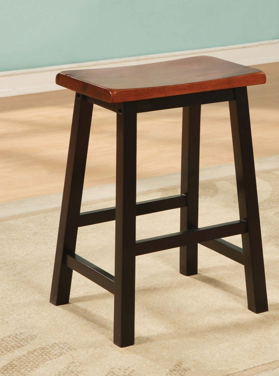 180129N Counter Stool - Rich Black