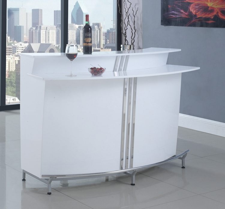 180239 Bar Unit - Glossy White