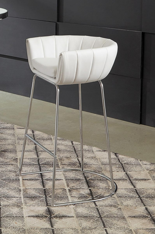 Dixon Bar Stool - White