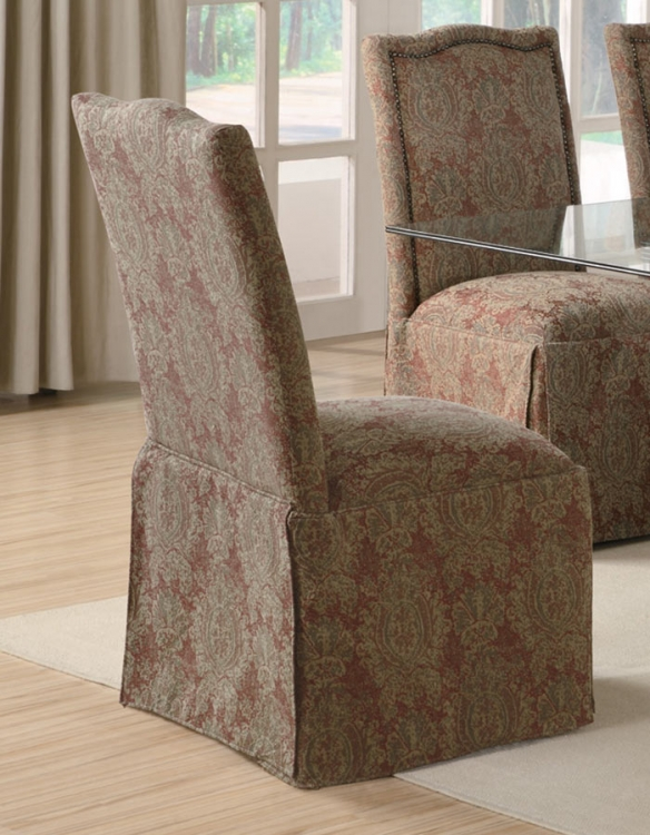 Slauson Upholstered Parson Chair - Fabric A