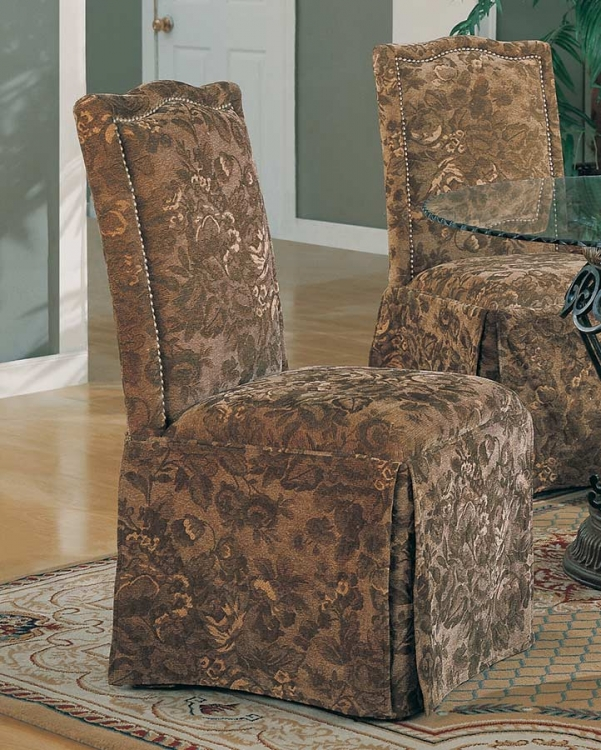 Slauson Upholstered Parson Chair - Fabric C - Coaster
