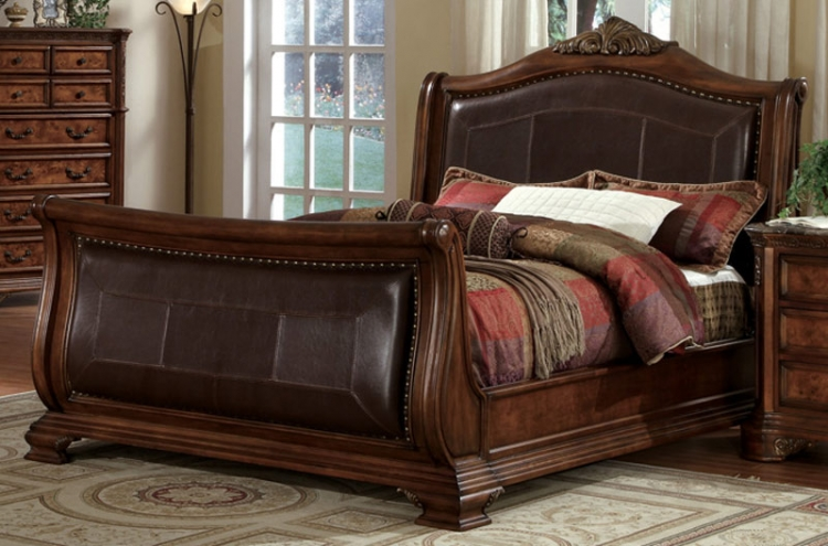 New Castle Panel Bed