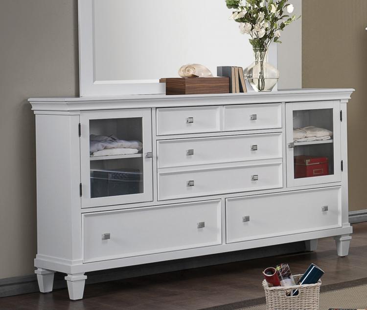 Camellia Dresser - White