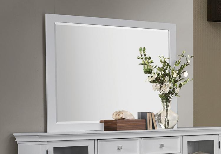 Camellia Mirror - White