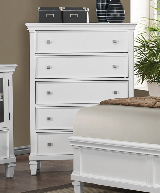 Camellia Chest - White