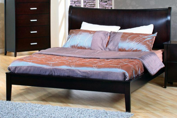 Stuart Queen Platform Bed