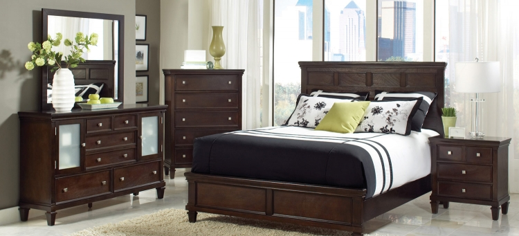 Camellia Bedroom Set - Cappuccino