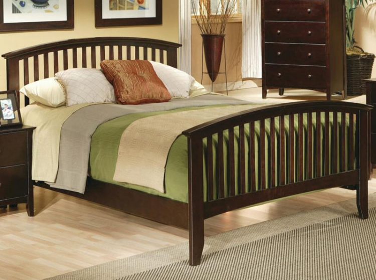 Temre Panel Bed