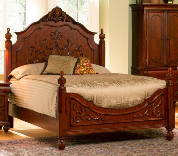 Isabella Panel Bed - Coaster