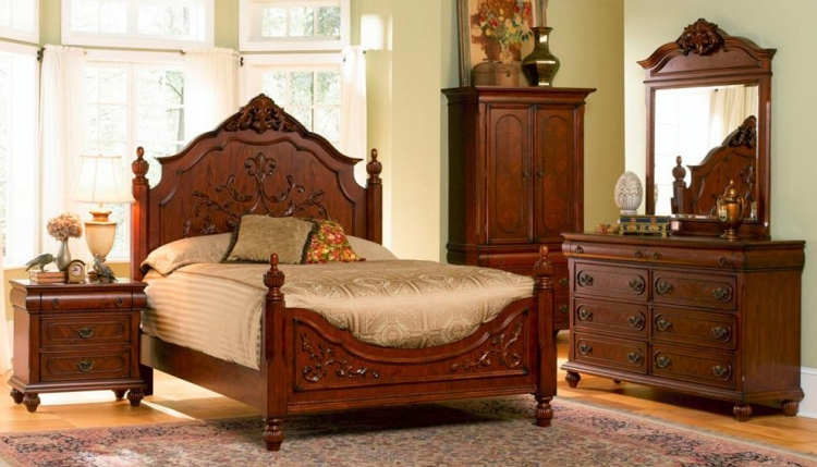 Isabella Panel Bedroom Set