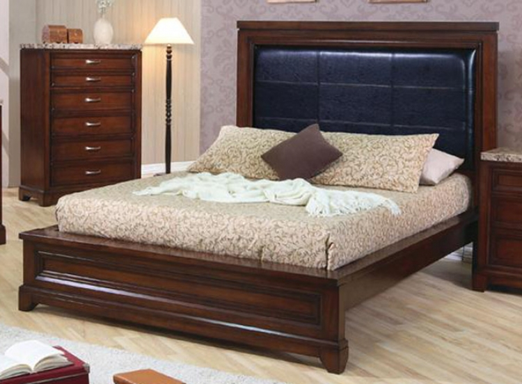 Andrea Low Profile Panel Bed