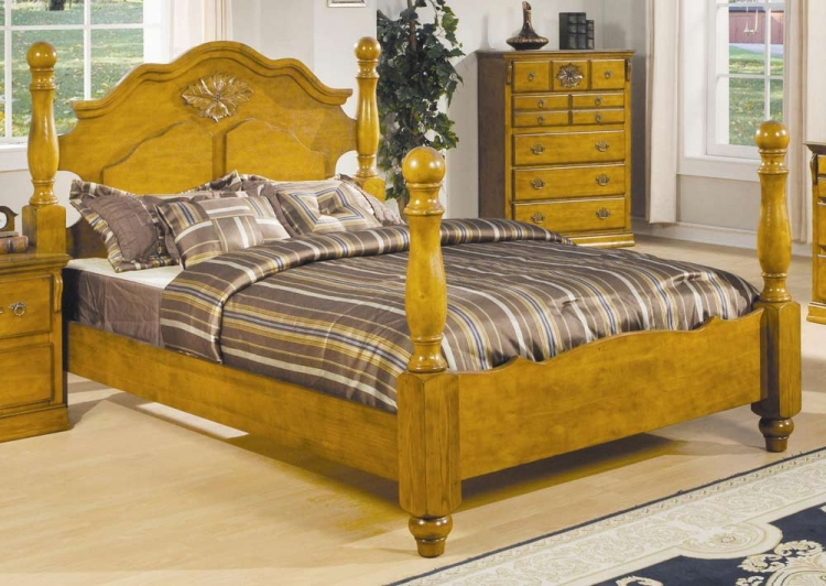 Brooke Panel Bed