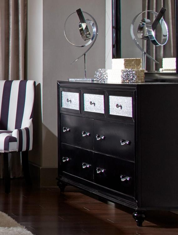 Barzini Dresser - Black