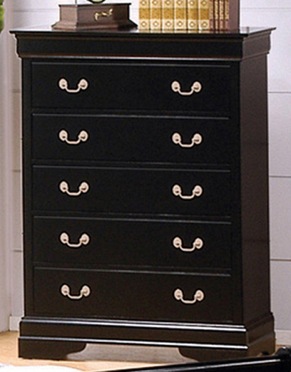 Louis Philippe Black Chest