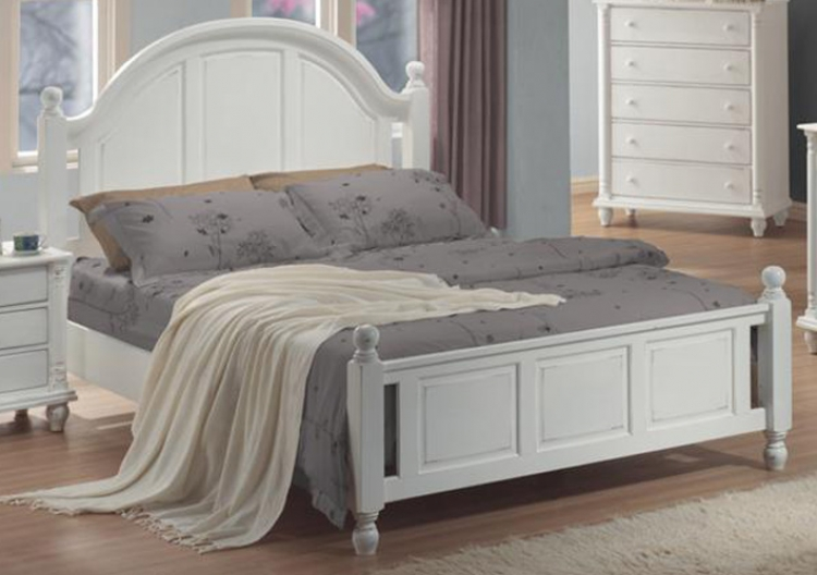 Kayla Light Panel Bed