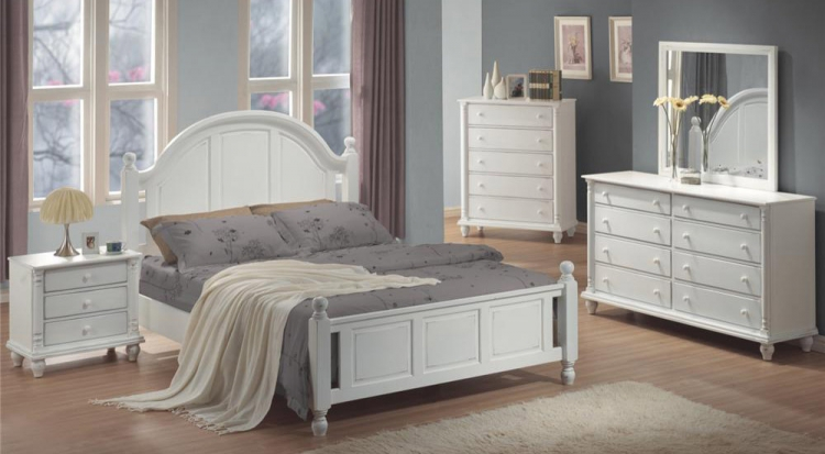 Kayla Light Panel Bedroom Set - Coaster