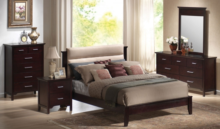 Kendra Panel Bedroom Set - Coaster