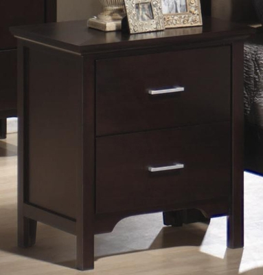 Kendra Night Stand - Cappuccino