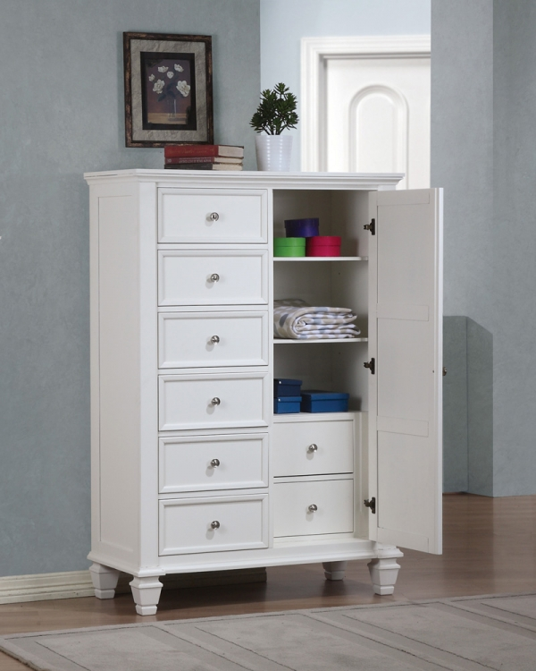 Sandy Beach Light Door Chest