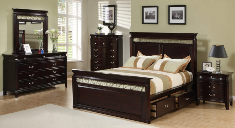 Manhattan Panel Bedroom Set - Coaster