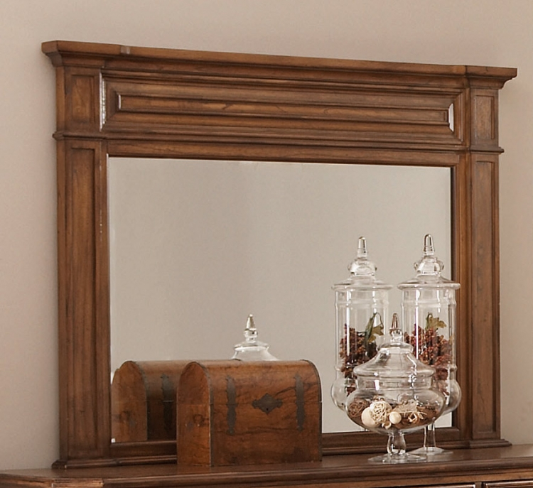 Edgewood Mirror - Oak