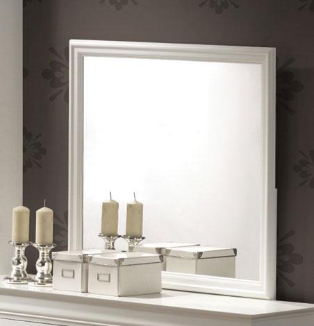 Louis Philippe Mirror - White