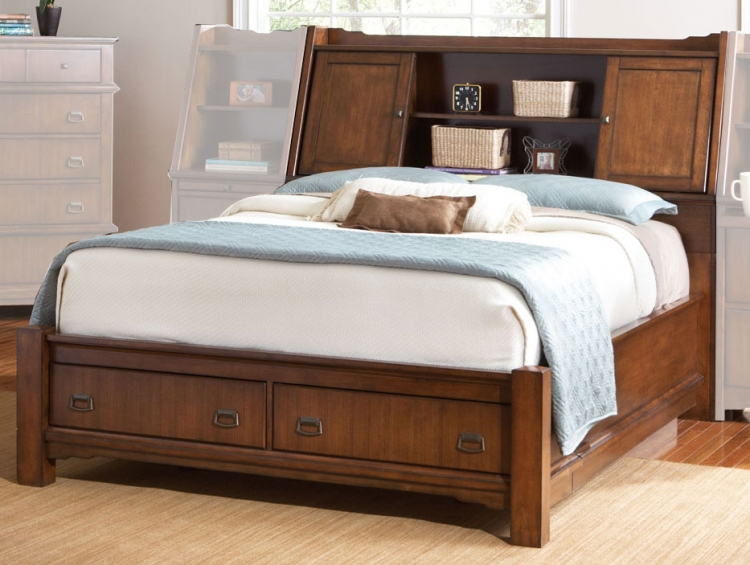 Grendel Bed with Storage