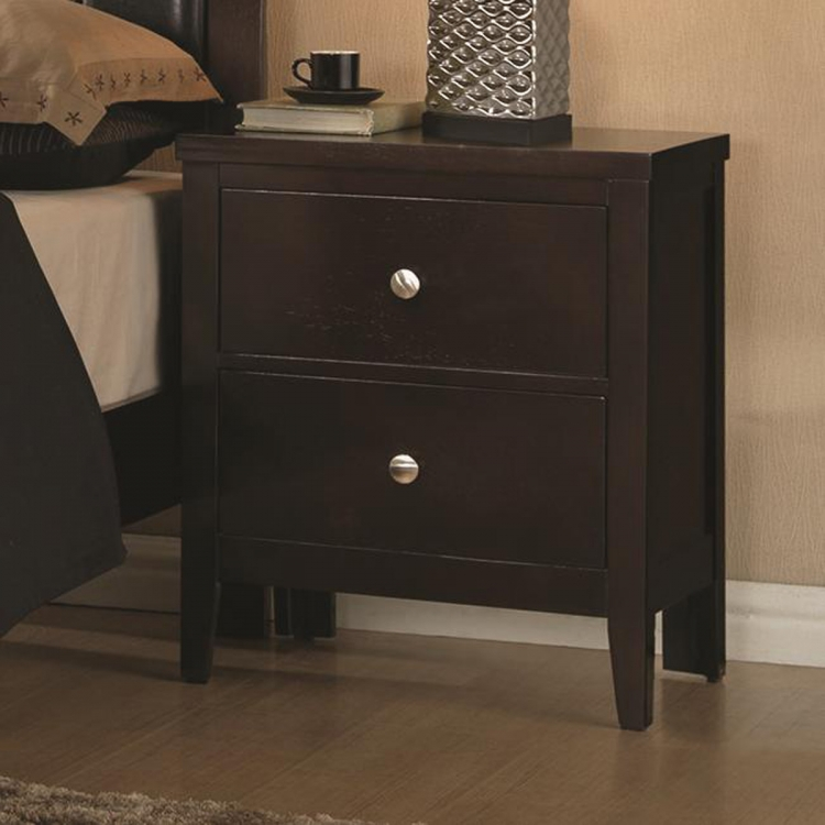 Carlton Night Stand - Cappuccino