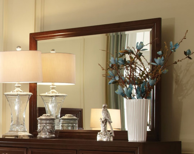 Nortin Mirror - Dark Cherry