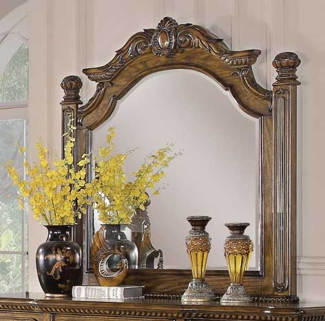 Bartole Mirror - Oak