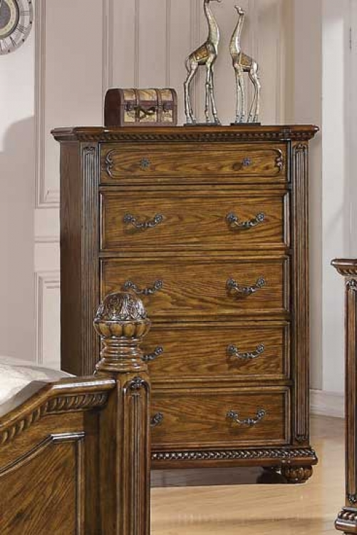 Bartole Chest - Oak