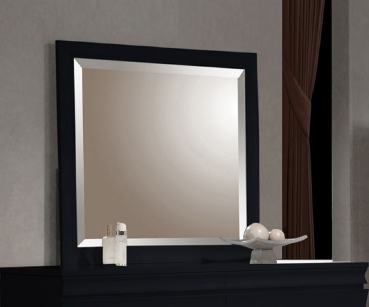 Holland Mirror - Black