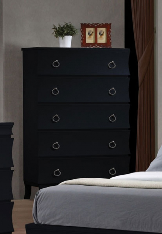Holland Chest - Black - Coaster
