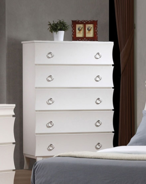 Holland Chest - White