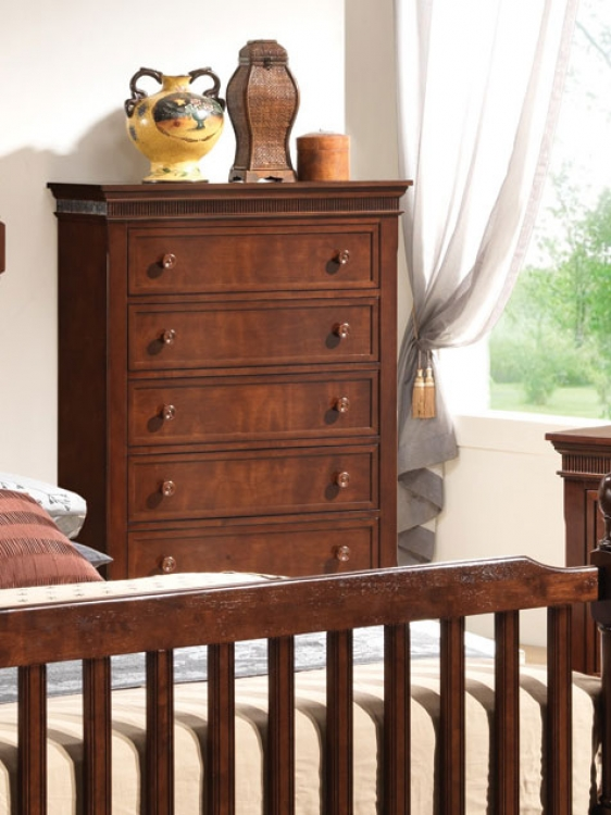 Montgomery Chest - Brown Cherry