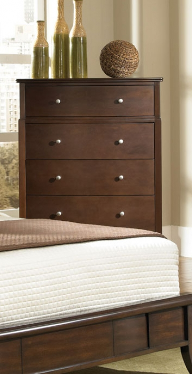 Addley Chest - Dark Cherry