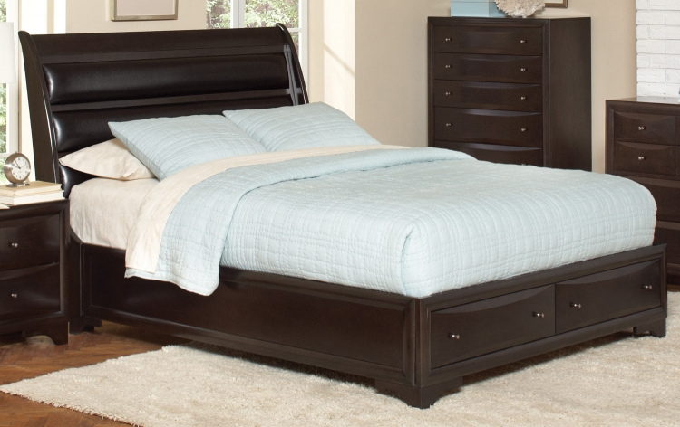 Webster Bed - Maple