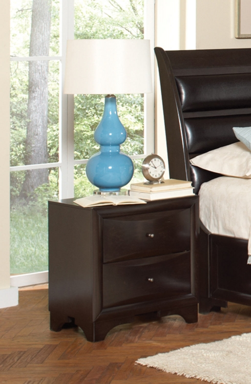 Webster Night Stand - Maple