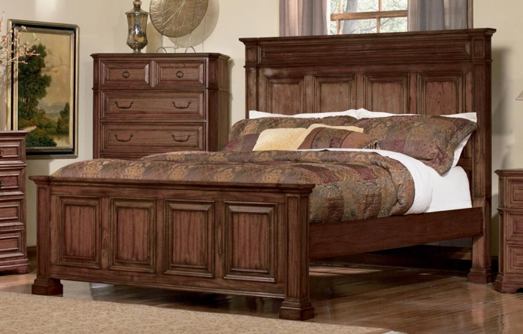 Edgewood Bed - Cherry - Coaster