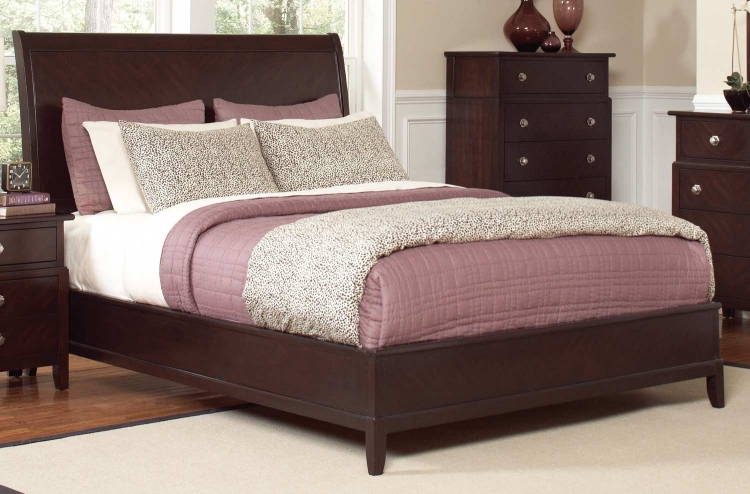 Albright Bed - Cherry
