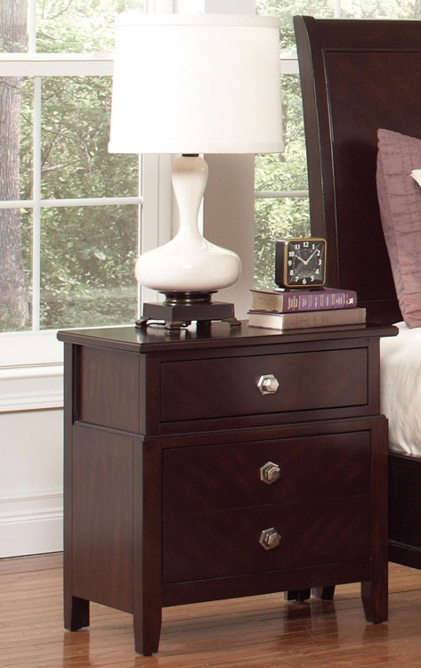 Albright Night Stand - Cherry