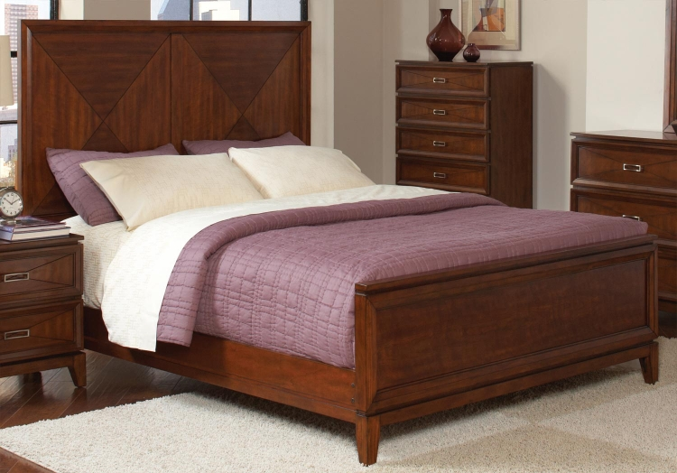 Katharine Bed - Oak