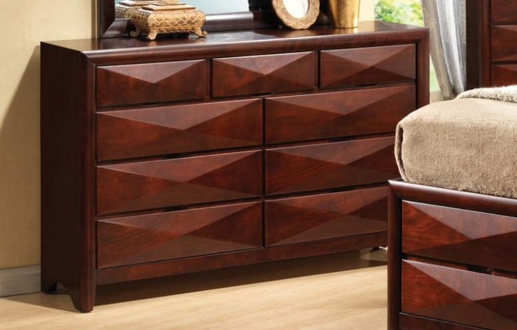 Bree Dresser - Brown Cherry