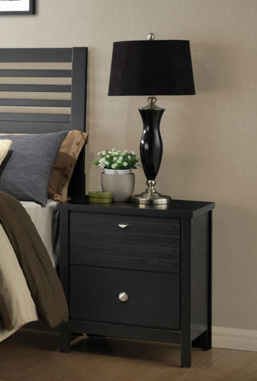 Richmond Night Stand - Black
