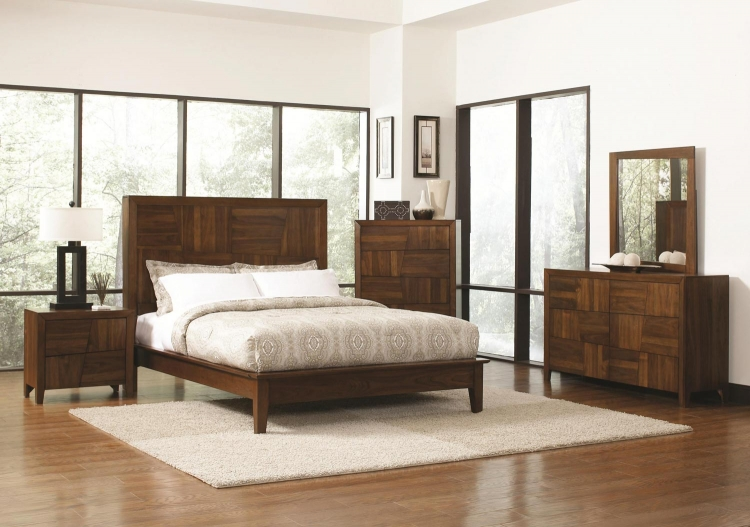 Joyce Bedroom Collection - Walnut