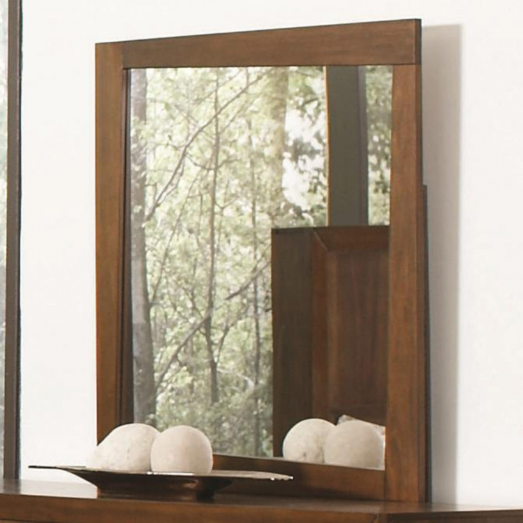 Joyce Mirror - Walnut