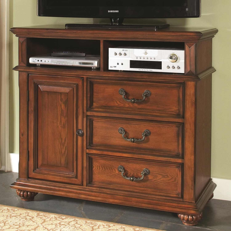 Kessner Media Chest - Oak