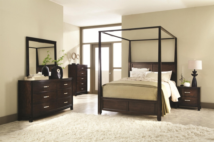 Ingram Bedroom Collection - Antique Brown