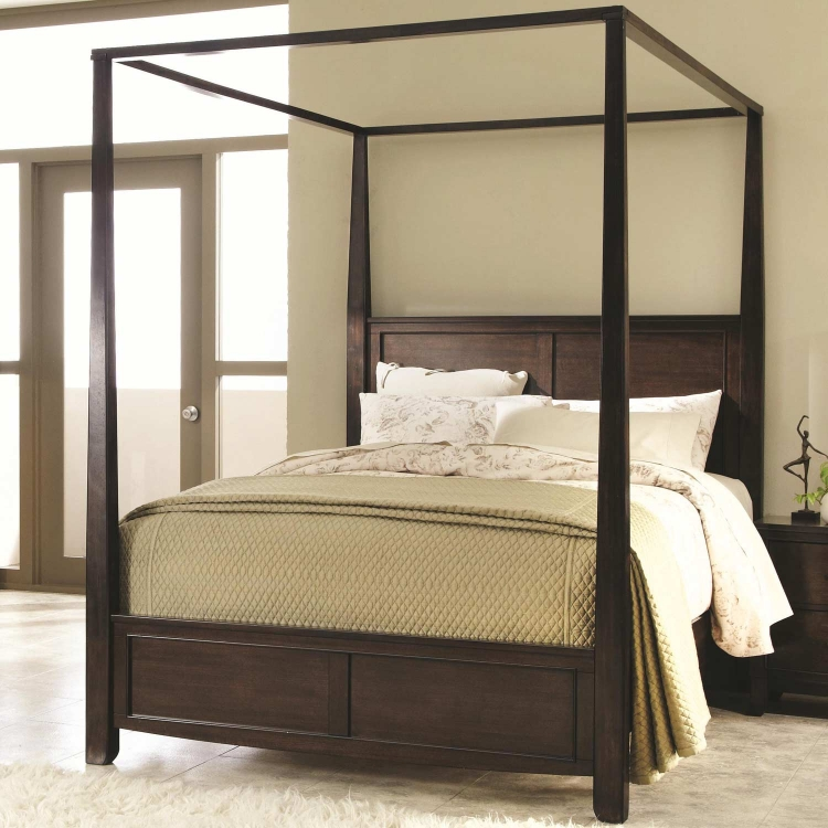Ingram Bed - Antique Brown