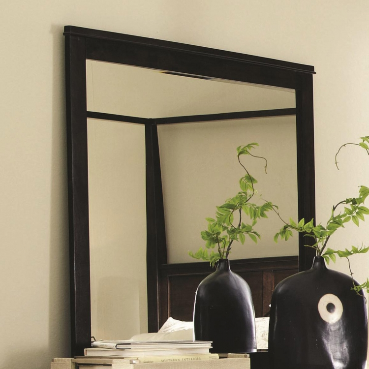 Ingram Mirror - Antique Brown